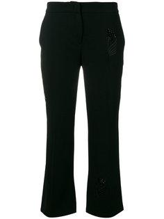 брюки с вышивкой Nº21