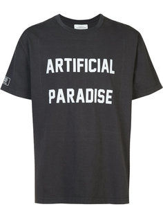 футболка с принтом artificial paradise  Fuct