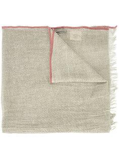 шарф с контрастной полосой Uma Wang