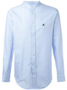 рубашка с воротником-стойкой MSGM