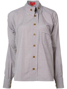 рубашка с асимметричными пуговицами Vivienne Westwood