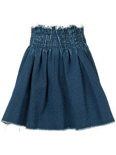 джинсовая юбка с эластичным поясом Maison Mihara Yasuhiro