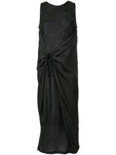 платье шифт со сборками Haider Ackermann