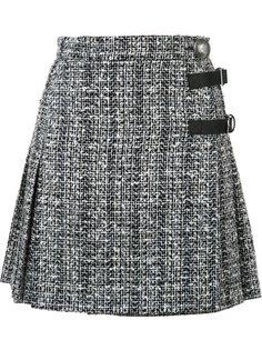 юбка мини А-образного силуэта Alexander McQueen