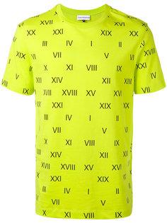 футболка с римскими цифрами Gosha Rubchinskiy ГОША РУБЧИНСКИЙ