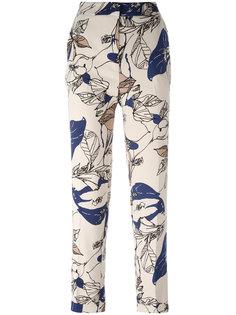 брюки с цветочным принтом Essentiel Antwerp