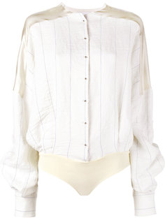 рубашка-боди в полоску Esteban Cortazar