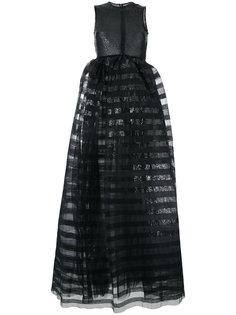 вечернее платье с пайетками Huishan Zhang