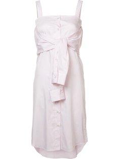 платье с запахом Maison Margiela