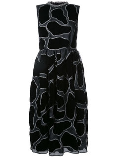 платье миди с вышивкой Jupe By Jackie