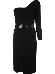 асимметричное платье на одно плечо Dsquared2