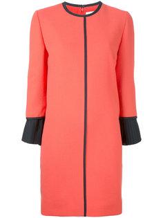 платье с контрастной окантовкой Victoria Victoria Beckham