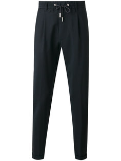 брюки с эластичным поясом Eleventy
