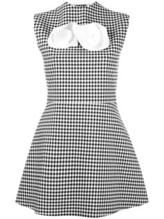 checked dress A.W.A.K.E. Awake