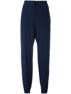 укороченные брюки с эластичными манжетами Cédric Charlier