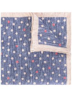 льняной платок с мелким узором Eleventy
