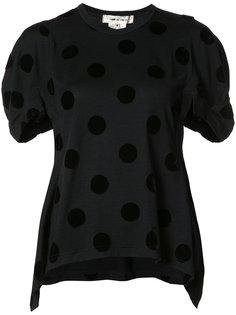 футболка в горох Comme Des Garçons
