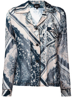 рубашка с узором Just Cavalli