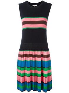 трикотажное платье с плиссировкой Chinti And Parker