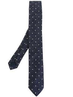 тканый галстук с узором в горох Eleventy