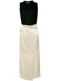 платье с запахом Uma Wang