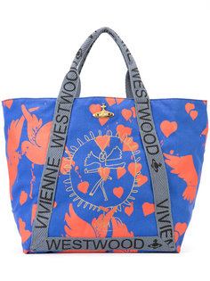 объемная сумка-тоут с принтом Vivienne Westwood