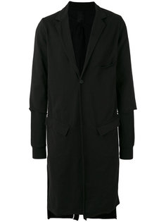 однобортное пальто Thom Krom