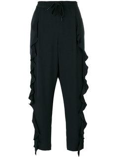 брюки с драпировками Sonia By Sonia Rykiel