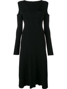платье  с вырезами на плечах Barbara Casasola