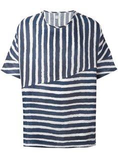 футболка Collection в полоску  E. Tautz