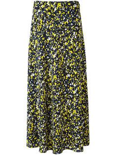 юбка длины миди с цветочным рисунком Cédric Charlier