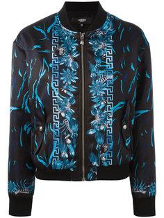 куртка-бомбер с орнаментом Versus