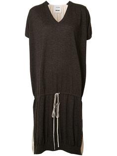 платье-футболка на шнурке Uma Wang
