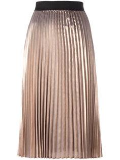 плиссированная металлизированная юбка Essentiel Antwerp