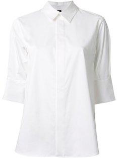 асимметричная рубашка Maison Mihara Yasuhiro