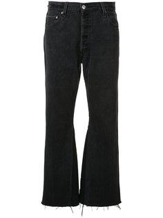 укороченные расклешенные джинсы Re/Done