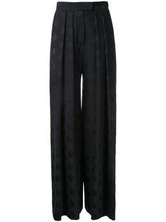 брюки палаццо в горох Martin Grant