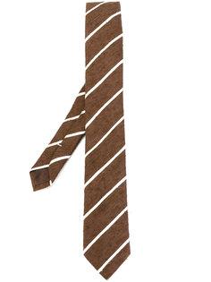 тканый галстук в полоску Eleventy