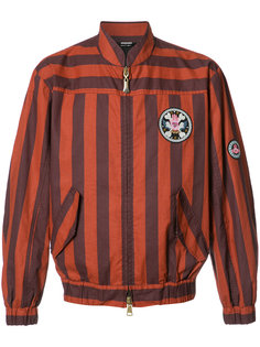 куртка бомбер в полоску Vivienne Westwood Man