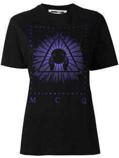 футболка с принтом Illuminati McQ Alexander McQueen