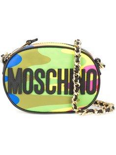 сумка на плечо дизайна колор-блок Moschino