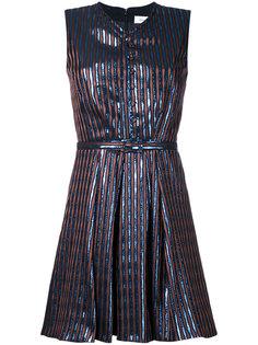 полосатое платье без рукавов Carven