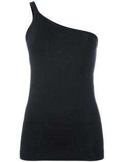 блузка на одно плечо Helmut Lang