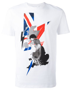 graphic print T-shirt Neil Barrett