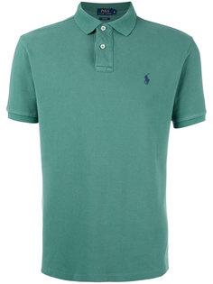 рубашка-поло с вышивкой на груди Polo Ralph Lauren