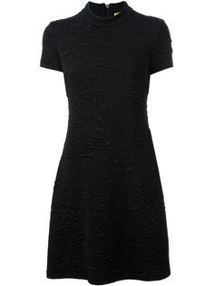 платье с вышитой деталью Versace Jeans