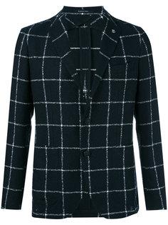 клетчатый пиджак Tagliatore