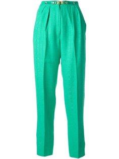 брюки на застёжке-защёлке Céline Vintage
