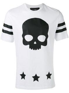 футболка в принтом в виде черепа Hydrogen