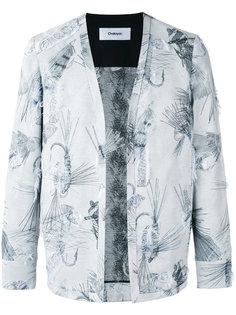 пиджак без застежки и воротника Chalayan